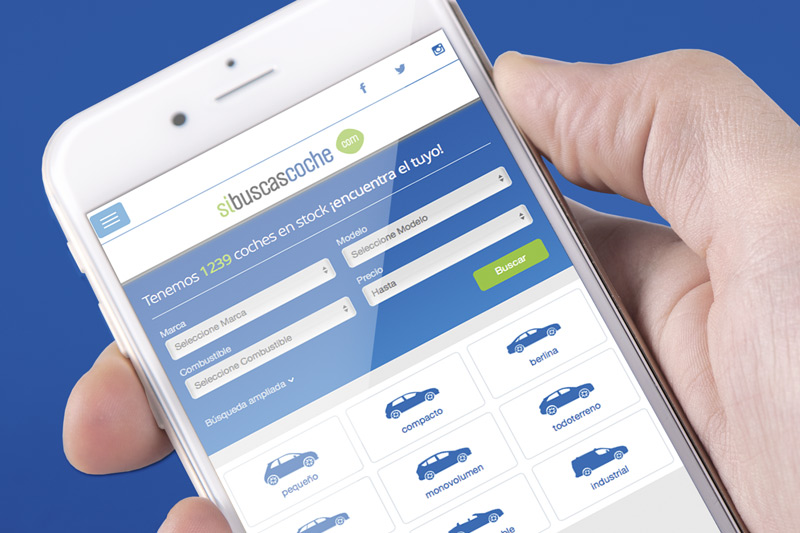 proyecto sibuscascoche, mareting online, branding